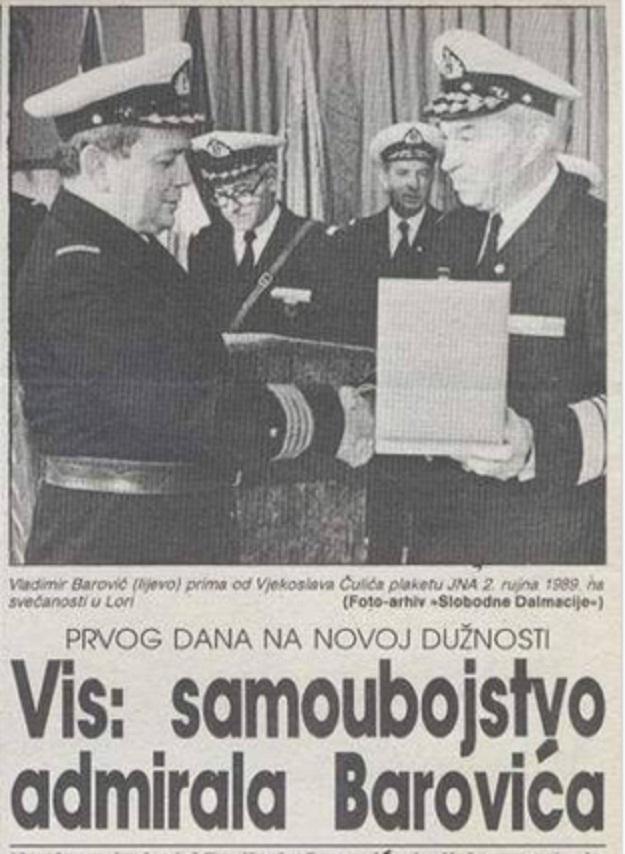 Prije točno 24 godine ubio se Crnogorac koji je radije pucao u sebe nego razarao hrvatske gradove