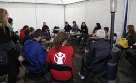 Razgovor sa aktivistima u Miksalištu