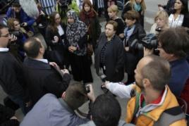 Srba Jovanović iz Refugee Aid Serbia u razgovoru sa nobelovkama