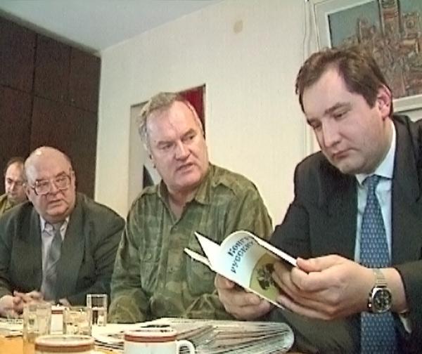 Rogozin i Ratko Mladic