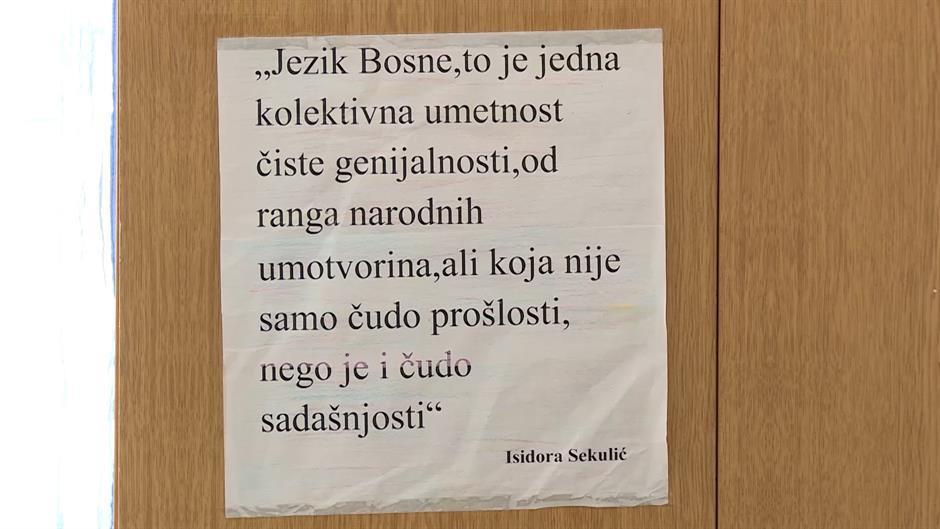 Šta je sa bosanskim? Srpski i hrvatski su jedan jezik